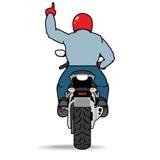 Motorcycle Single File