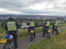 South Yorkshire Police off-road motorcycle team