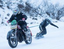 Winter Fun with Harley Davidson