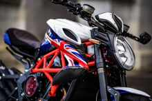 mv agusta dragster london special close