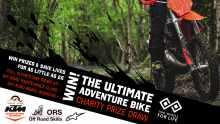 Two Wheels for Life Prize Draw KTM Alpinestars